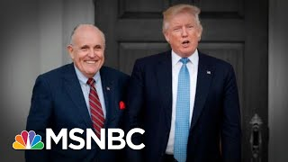 Giuliani: Team President Trump Talked About Moscow Project Throughout 2016 | The 11th Hour | MSNBC