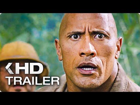 JUMANJI 2 Exklusiv Trailer German Deutsch (2017)