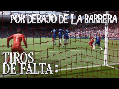 FIFA 15 - FREEKICK TUTORIAL / TIROS LIBRES (Por debajo de la barrera)