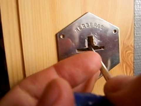 Методика взлома сувальдных замков с помощью подбора ключей. Сувальдный зам