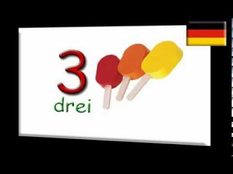 Learn German numbers ~ Deutsche Zahlen