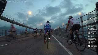 香港單車節2017 50KM 青馬至終點