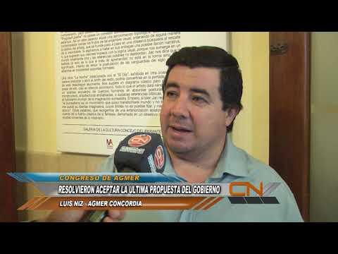 AGMER resolvió aceptar la propuesta salarial del gobierno