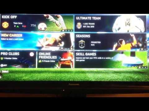Fifa 14 virtual pro glitch!!!