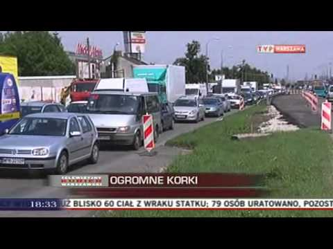 Wąsko I Kilometrowe Korki W Al. Krakowskiej