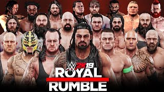 WWE 2K19 - 30 Man Royal Rumble Match!