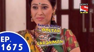 Taarak Mehta Ka Ooltah Chashmah - तारक मेहता - Episode 1675 - 19th May 2015