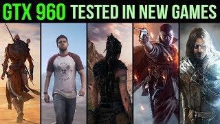 GTX 960 Revisit - Tested in 5 New Games @ 1080p