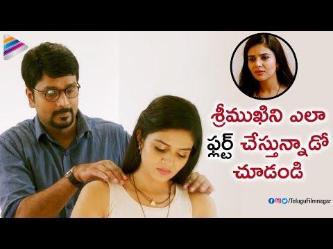 Srinivas Avasarala Flirts with Sreemukhi | Babu Baga Busy Latest Telugu Movie | Tejaswi Madivada