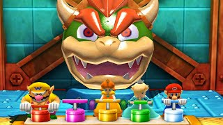 Mario Party The Top 100 - Bowser's Big Blast & Other Minigames (Very Hard Difficulty)| Cartoons Mee