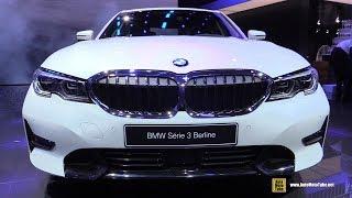 2019 BMW 3-Series 320d - Exterior and Interior Walkaround - Debut at 2018 Paris Motor Show
