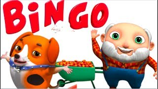 Bingo Dog Song | Animinies By Videogyan 3D Rhymes | Nursery Rhymes & Kids Songs | Cartoon Animation