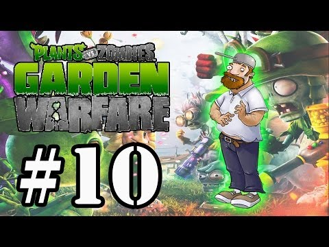 Plants vs Zombies:Garden Warfare #10 Modo Horda Dave Doidão