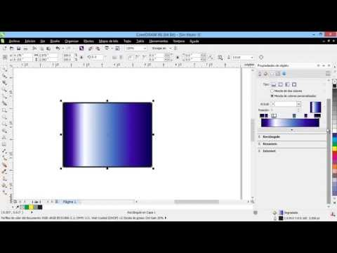 Curso Introducción a CorelDraw X6 - 39 Propiedades de Contorno y Relleno