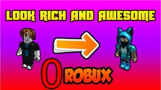 ROBLOX | HOW TO LOOK RICH WITH 0 ROBUX! [2018] [BOYS VERSION]