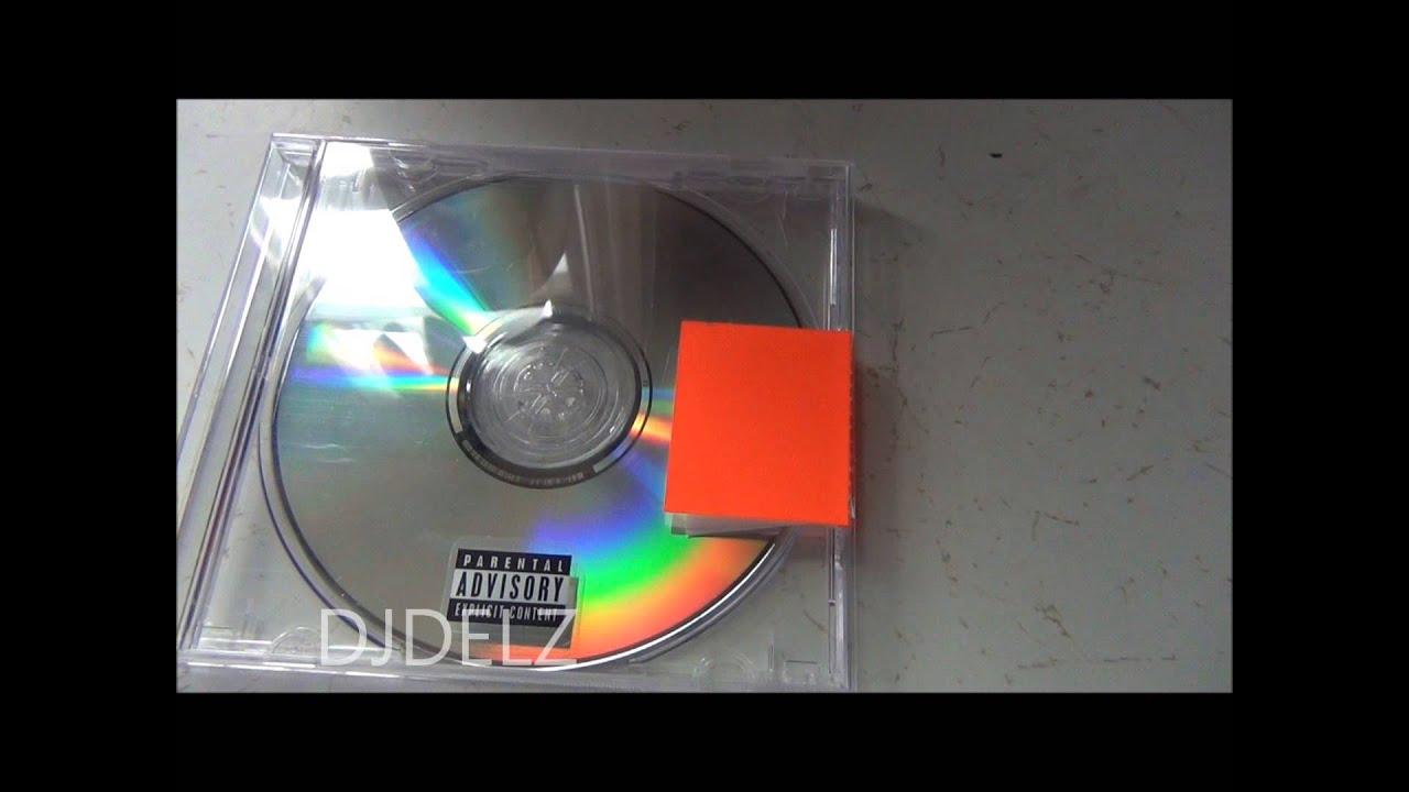 Yeezus Real Album Cover Golden Ticket Found In Yeezus