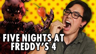 Five Nights at Freddy's 4 - Hot Pepper Game Review ft. NateWantsToBattle