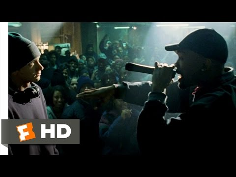 8 Mile (2002) - Rabbit Battles Lil' Tic Scene (1/10) | Movieclips