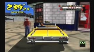 Crazy Taxi Gameplay and Commentary