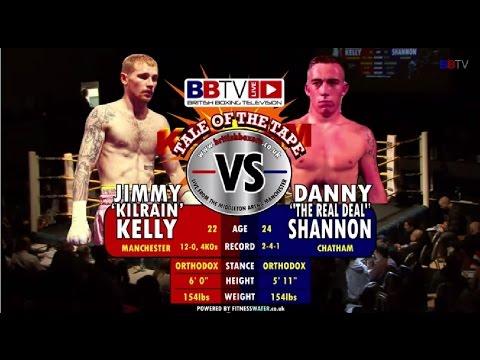 Jimmy 'Kilrain' Kelly vs Danny 'The Real Deal' Shannon #BBTVLIVE