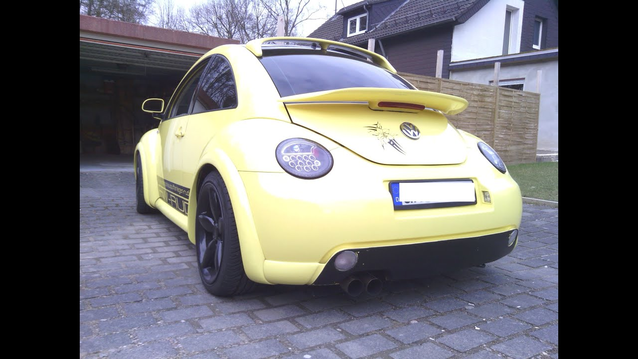 Vw New Beetle Projekt Zwo Sound Exhaust Youtube