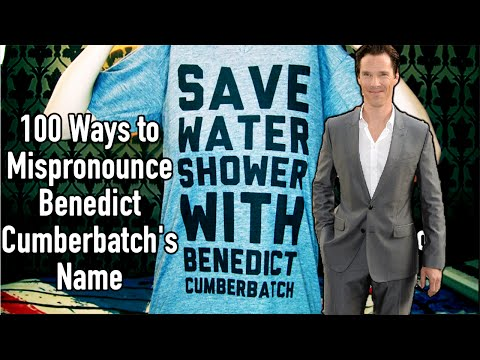 100 Ways to Mispronounce Benedict Cumberbatch's Name | Geek With Me