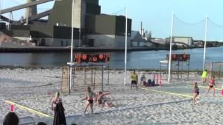 Giorno #6 - EURO 2013 Beach Handball: Italia - Norvegia 0-2