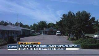 Former motel owner spied on guests