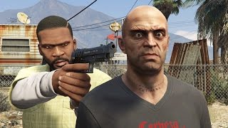 GTA V Franklin kills Trevor