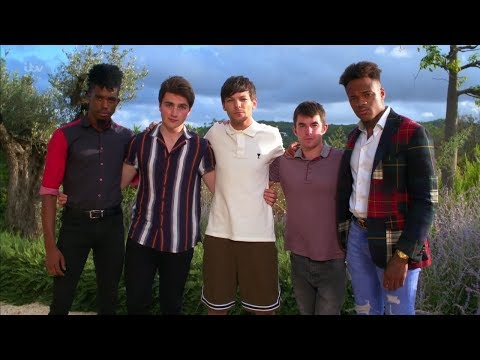 The X Factor UK 2018 Louie and The Boys Finalists Judges Houses  Clip S15E14