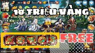 Đông Tà Tây Độc - Free Vip 15 - 10.000.000 VÀNG - NK Mobile Game - Review Game - NanhKo GM
