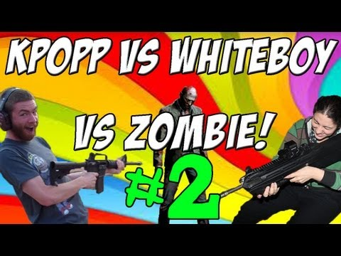 KPopp VS Whiteboy7thst - ZOMBIES PART 2