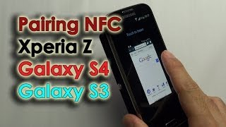 Pairing NFC - Galaxy S3, S4 & Xperia Z
