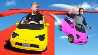 Smart Car Obstacle Course Challenge!   GTA5