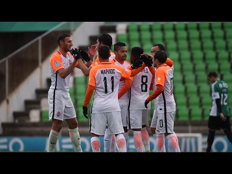 Rio Ave 0-3 Shakhtar. Highlights (10/02/2017)