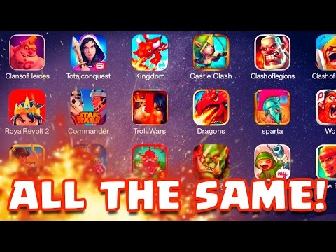 clash Of Xxx Clash Of Clans Look-a-likes! Funny Knockoffs! video