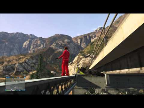 GTA 5 Fun with Friends #8 Epic Jumps, Trolled and HOVER BIKE!!!