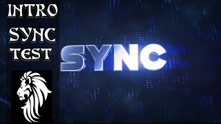 (INTRO) News SYNC TEST By : TheOneProdigy