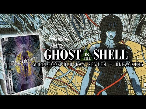 Ghost In The Shell Steelbook Blu Ray Review + Unpacking