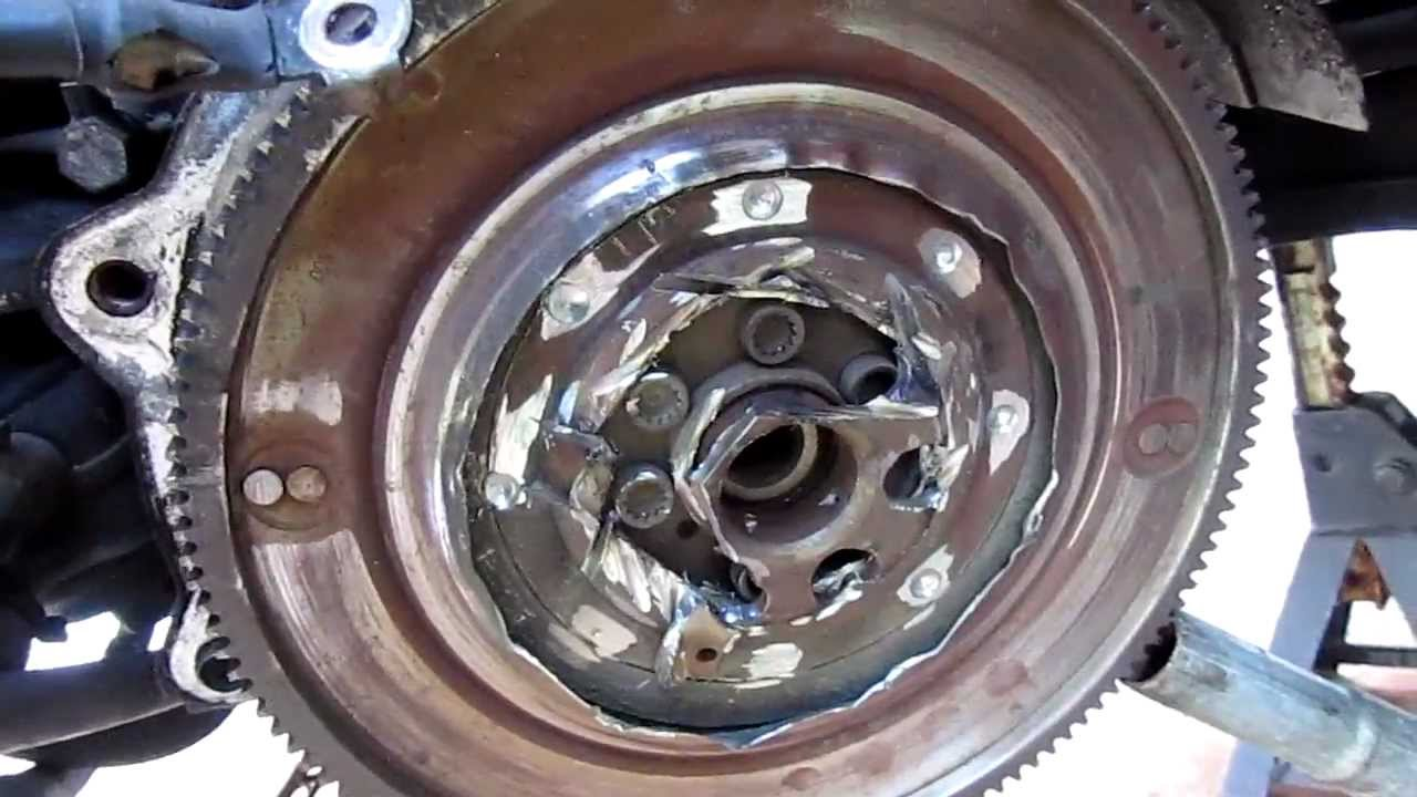 Vw Tdi Dual Mass Flywheel Dmf Nightmare Youtube