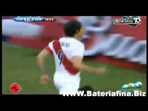 Los 5 Goles De Paolo Guerrero En La Copa America 2011