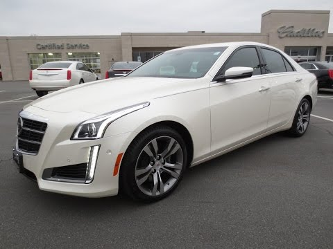 2014 Cadillac CTS V-Sport Start Up. Test Drive. Exhaust. and In Depth Review