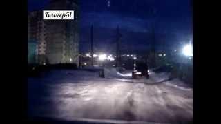 Мурманск - погоня за пьяным водителем