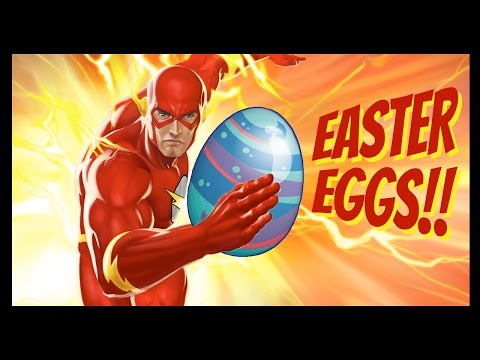 Flash Poster Easter Egg Decoder!! - CineFix Now