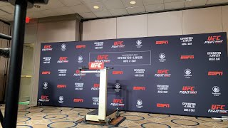 UFC on ESPN 5 official weigh in (Archive)