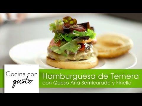 Hamburguesa de Ternera por Mario Sandoval