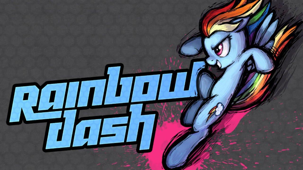 MLP Fighting is Magic Rainbow Dash Stage Theme YouTube
