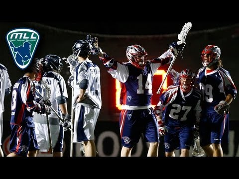 MLL Week 4 Highlights: Chesapeake Bayhawks at Boston Cannons