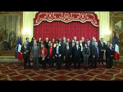 Premier conseil des ministres de l'année 2015