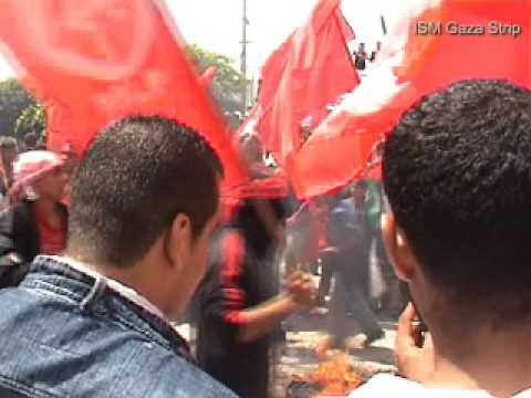 1st May Workers Day Demonstration, Gaza, 30/4/2009